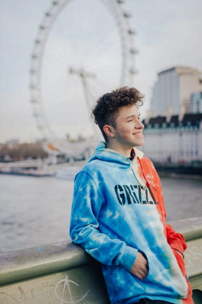 Ensaio masculino na London Eye realizado por fotógrafa brasileira em Londres