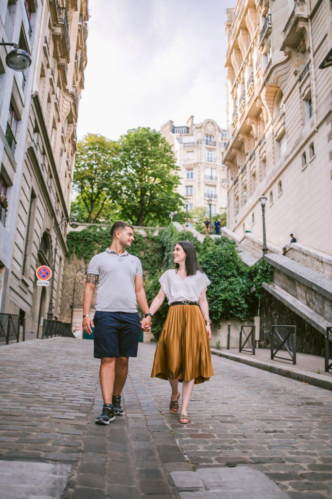 Fotógrafo brasileiro em Paris : Ensaio de pedido de casamento surpresa em Paris
