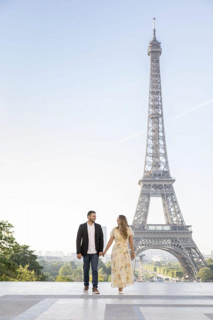 Fotógrafo brasileiro em Paris : Ensaio lua de mel em Paris na Torre Eiffel
