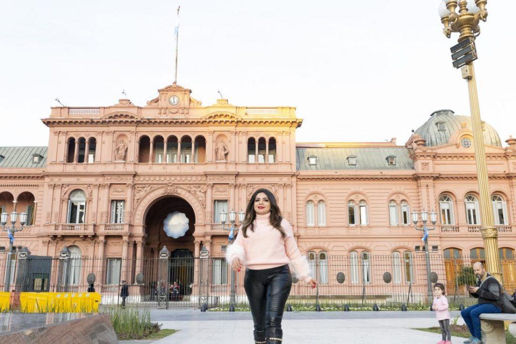 Ensaio solo com fotógrafa brasileira em Buenos Aires