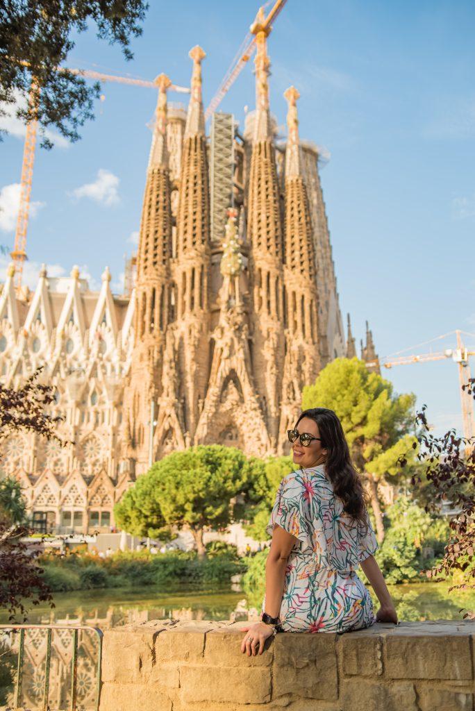 Fotógrafo brasileiro em Barcelona : Fotos em Barcelona, ensaio feminino na Sagrada Família