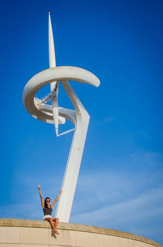 Fotógrafo brasileiro em Barcelona realiza ensaio na Ciudad Olimpica