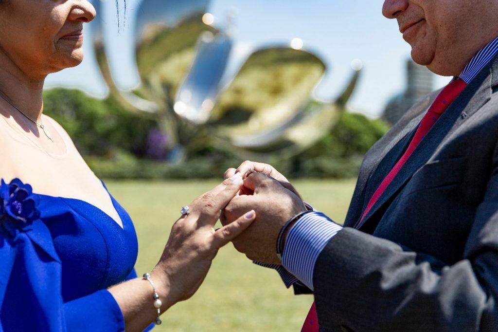 Renovação de votos em Buenos Aires com fotografo brasileiro na Argentina