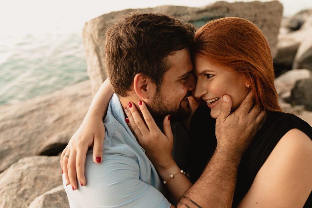 Ensaio de casal no pôr do sol - Fotógrafo em João Pessoa