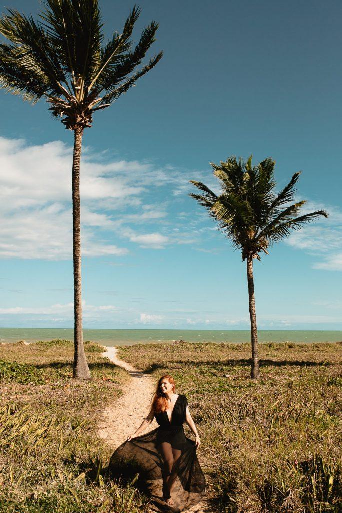 Ensaio feminino na Praia de Intermares - Fotógrafa em João Pessoa