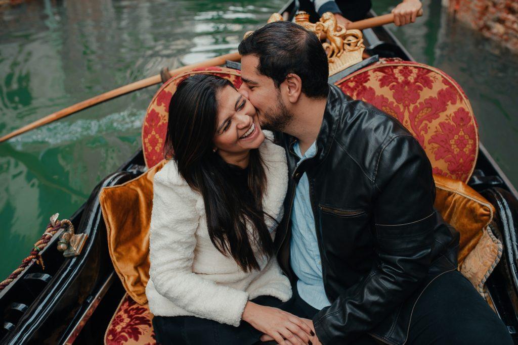 Ensaio casal em Veneza pelo olhar de uma fotografa brasileira na Itália