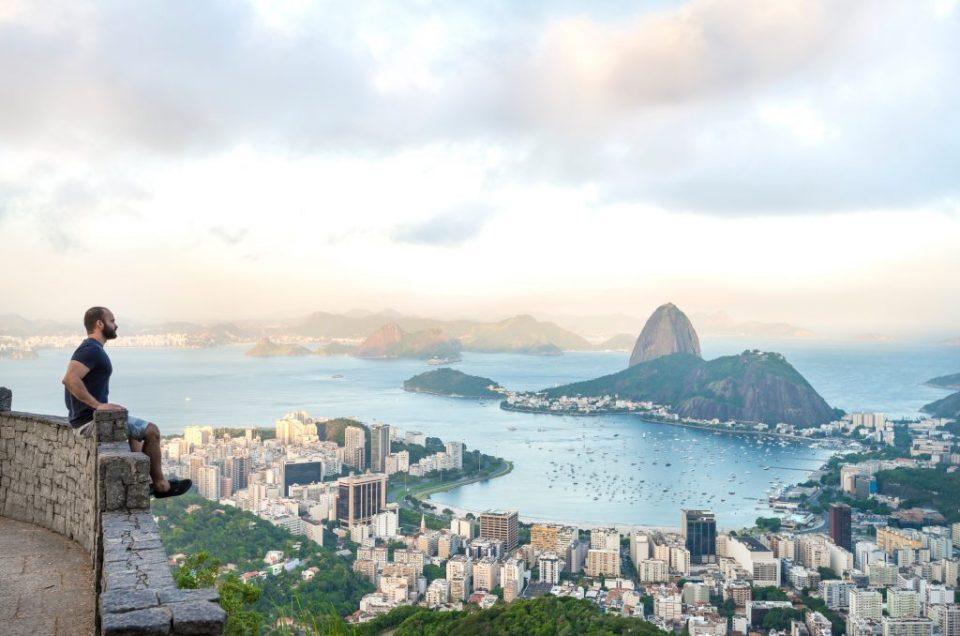 Ensaio Corcovado no Rio de Janeiro com fotografa profissional