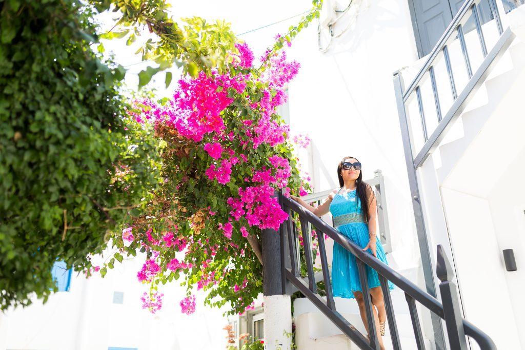 Ensaio em Mykonos com fotógrafa brasileira na Grécia