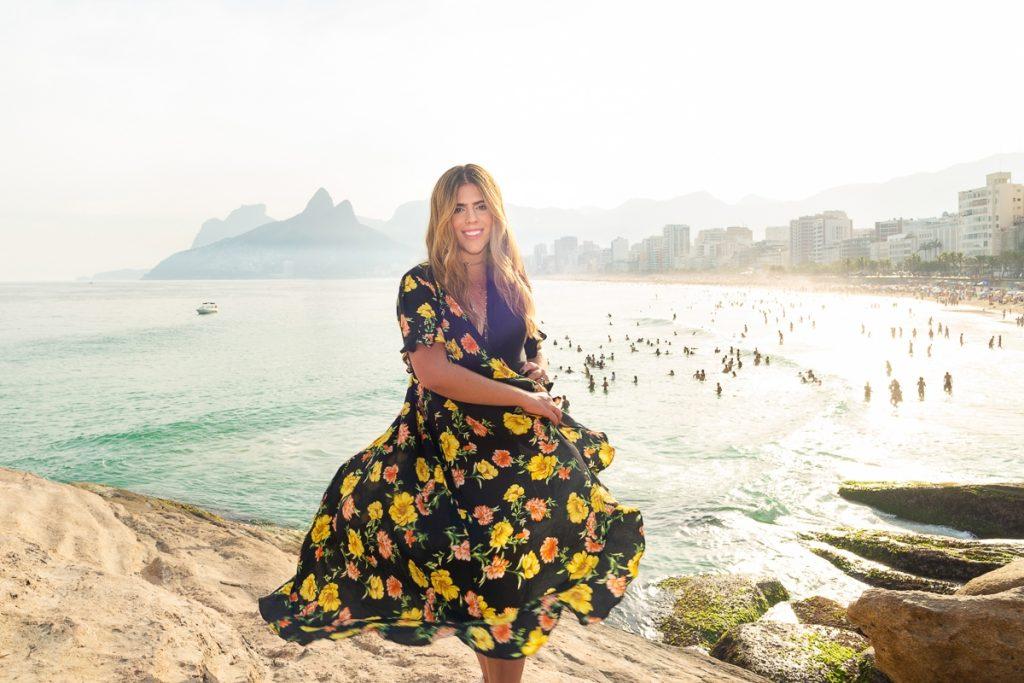 Ensaio no arpoador por fotografa profissional no Rio de Janeiro