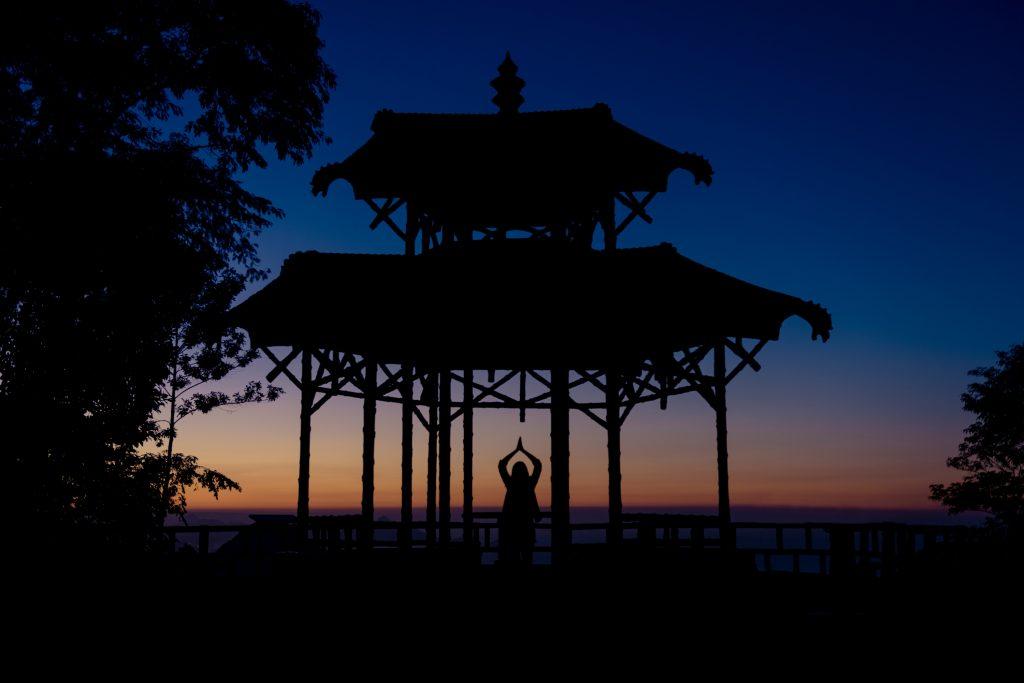 Ensaio vista chinesa nascer do sol no Rio de Janeiro com fotografa profissional