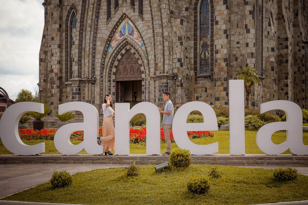 Ensaio Pré-Wedding em Canela - Fotógrafa no Rio Grande do Sul