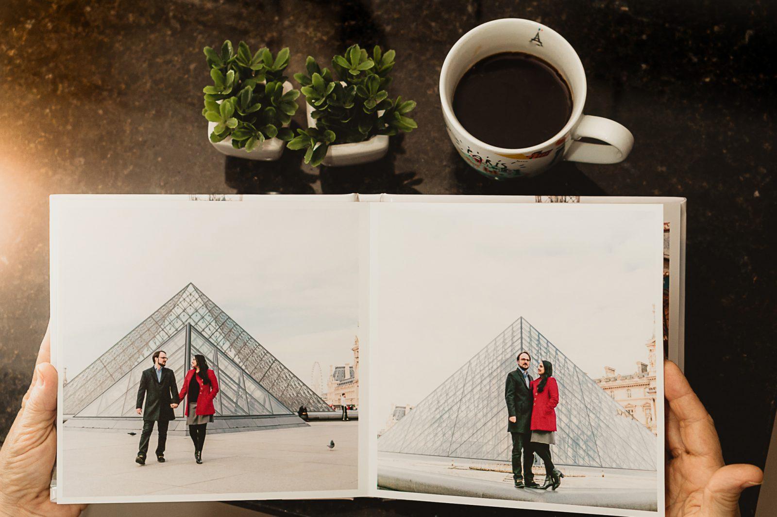 Produtos : Álbum de fotos - Souvenirs de Ensaio em Paris