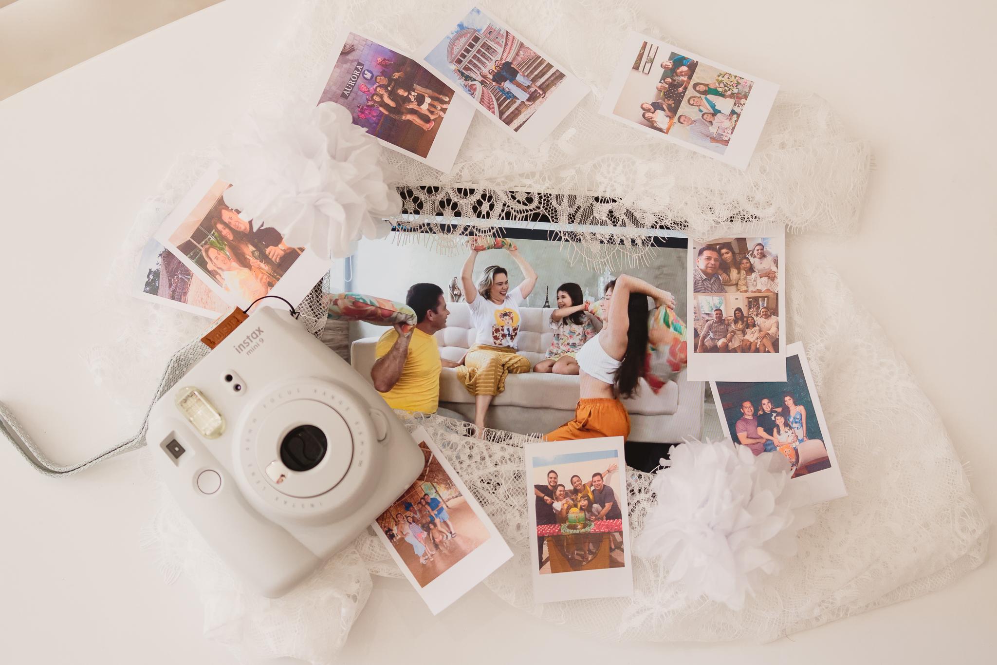 Ensaio virtual - Quarentena em família