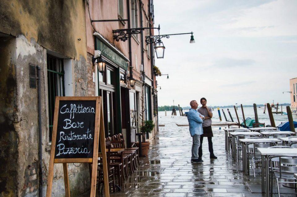 A volta do turismo europeu: Ruas e comércios vazios em Veneza depois da pandemia do coronavírus