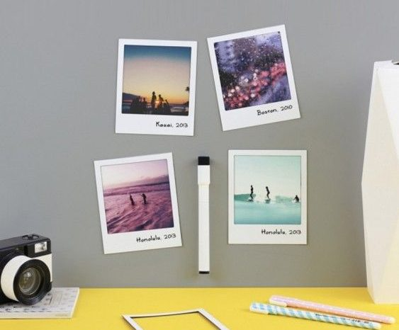Polaroid imãs