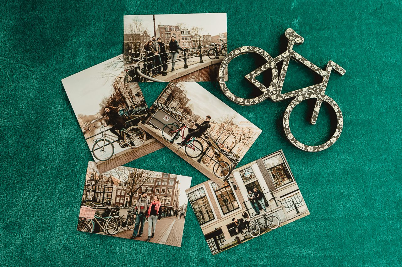 Fotos impressas de viagem