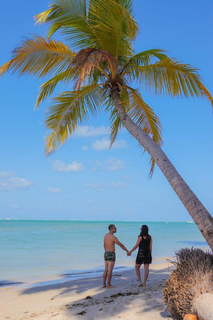 Ensaio casal na praia de Carneiros - Fotógrafo em Pernambuco