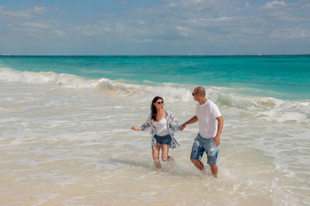 Ensaio casal nas praias do México - Fotógrafo brasileiro em Cancun