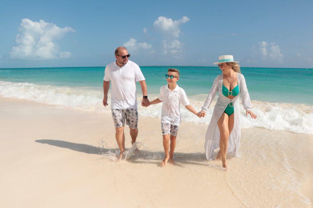 Ensaio família nas praias do México - Fotógrafo brasileiro em Cancun