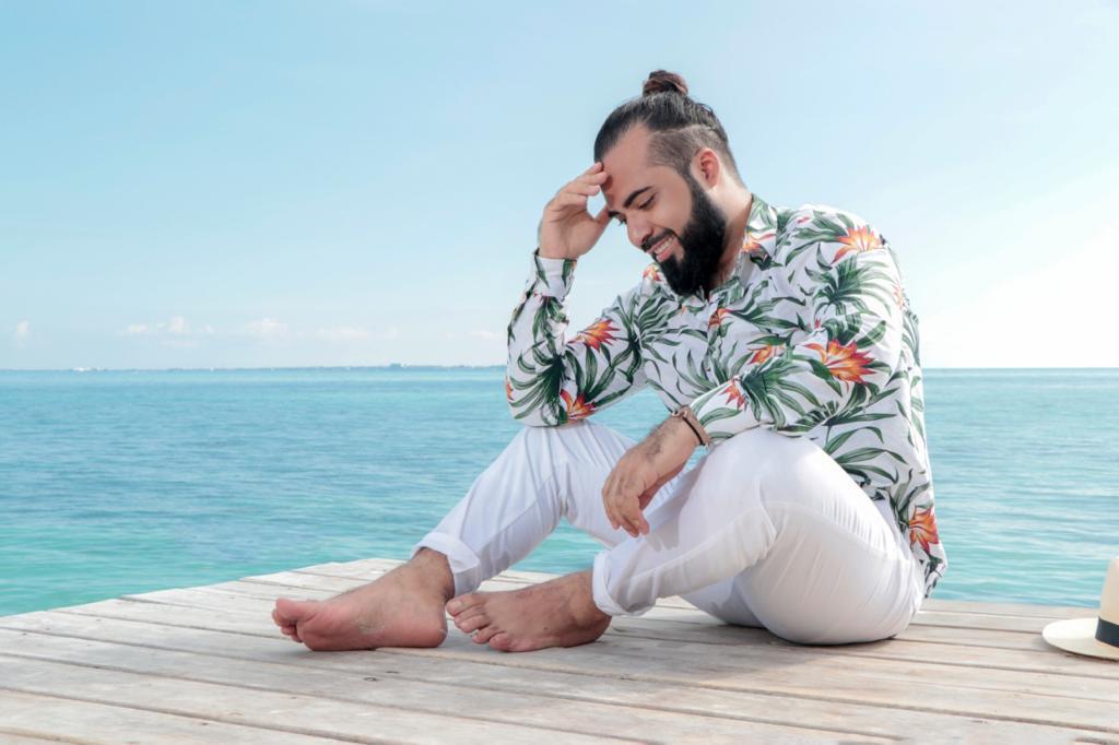 Ensaio masculino no México - Fotógrafo brasileiro em Cancun