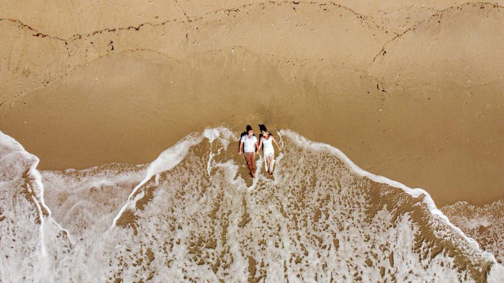 Foto de drone em ensaio em Porto de Galinhas - Fotógrafo em Pernambuco