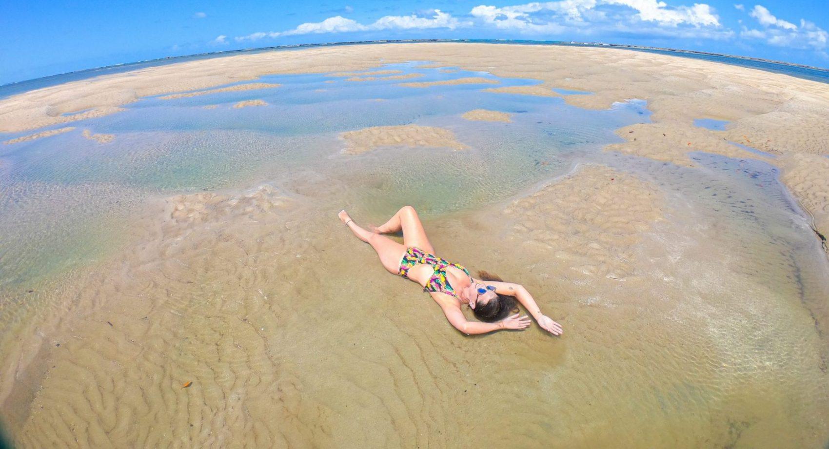 Ensaio na praia com fotógrafo em Porto de Galinhas - Pernambuco